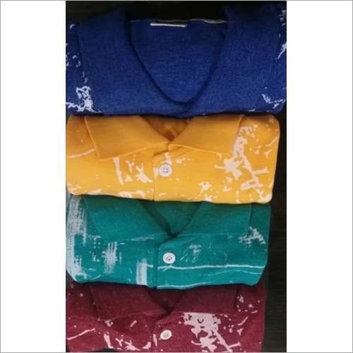 Mens Dye Printed T-Shirt