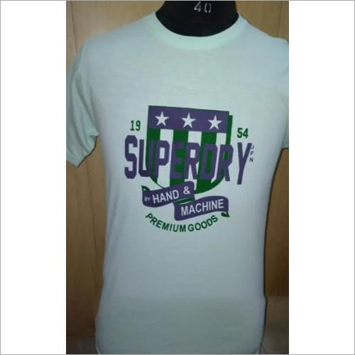 Mens Daily Wear Printed T Shirt