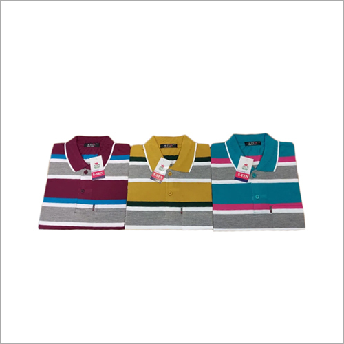Mens Fancy Striped T-Shirt