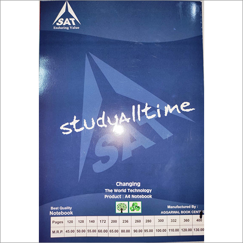 A4 Student Notebook