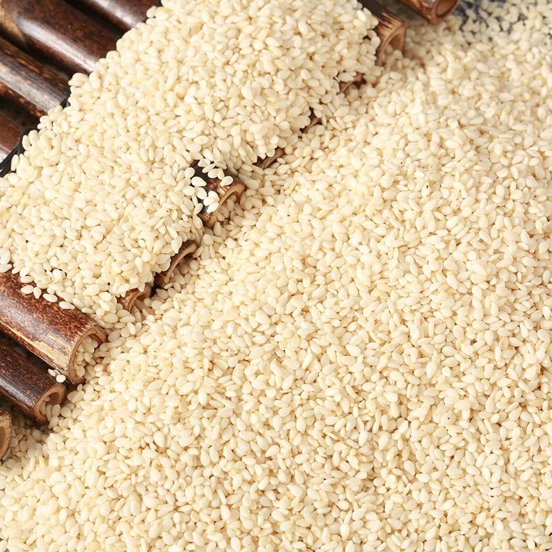 Satva Industries White Hulled Sesame Seeds New Crop