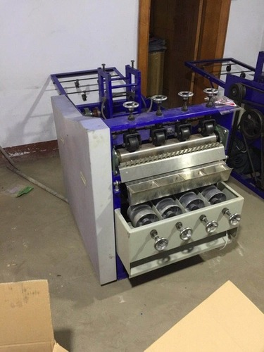 4 Bowl Scrubber Making Machine