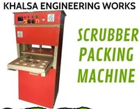 Packaging Machine For Scrubber