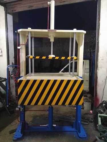 Leak testing press machine