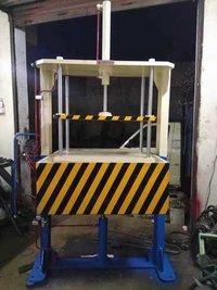 Leak testing press machine