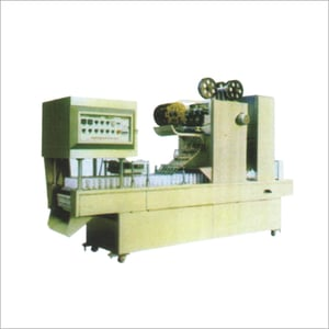 Automatic Bottle Rinsing Filling Aluminium Foil Cutting Forming And Sealing Machine