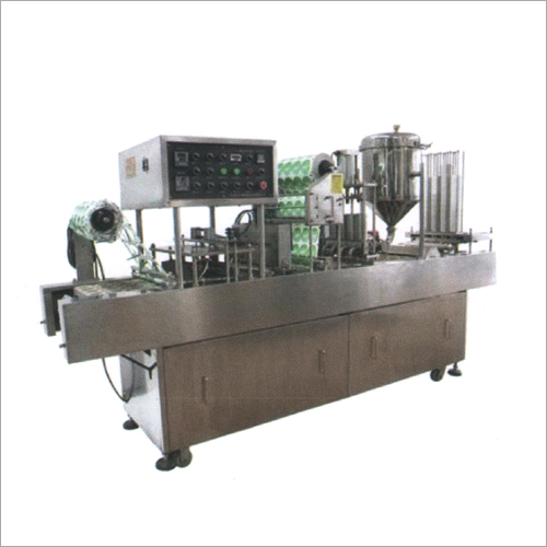 Automatic Cup-Glass Rinsing Filling And Sealing Machine