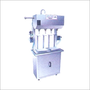Semi Automatic Linear Gravity Filler Machine