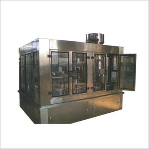 Auto Bottle Rinsing Filling And Capping Machine Three In One (Uniblock) For Carbonated And Soft Drink