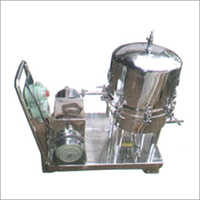 Stainless Steel Syrup Filter Press