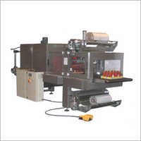 Automatic Shrink Wrapping With Heating Tunnel Machine
