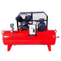 Heavy Duty Reciprocating Air Compressor 5HP and 220 Liters