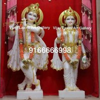 Marble Radhe Krishna Moorti