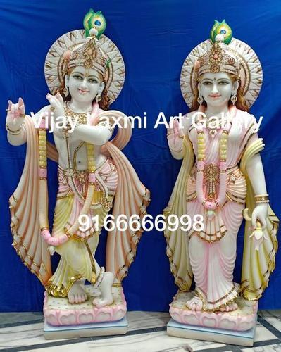 Marble Radhe Krishna Sculpture