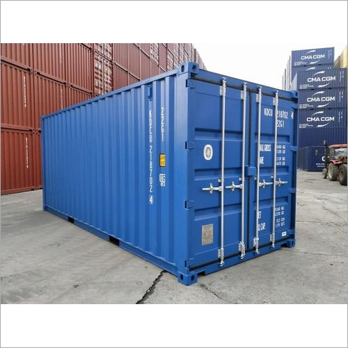 20 Feet Color Coated Marine Container