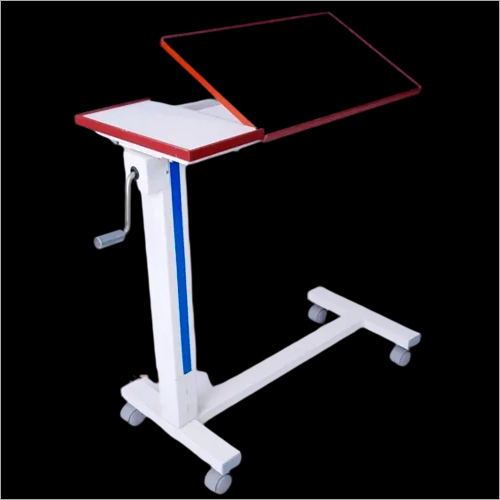 GEAR MECHANISM OVERBED TABLE LAMINATED TOP