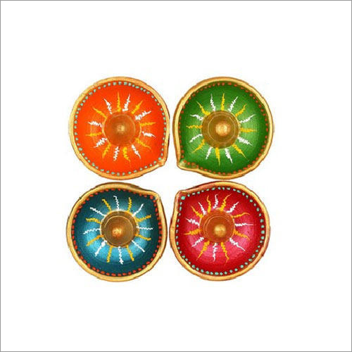 Fancy Earthen Diya