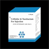 Ceftiofur and Tazobactam Injection 1.125 g