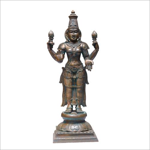 Panchaloha Bronze Lakshmi Statue