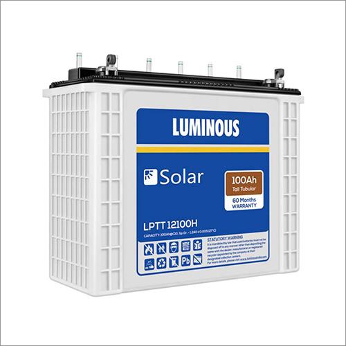 100Ah Luminous Solar Battery