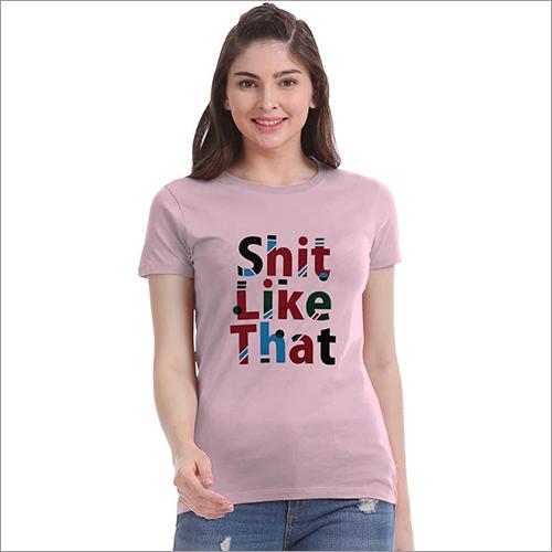 Ladies Fancy T-Shirts