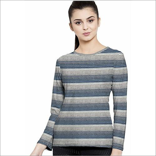 Ladies Printed Full Sleeve T-Shirts