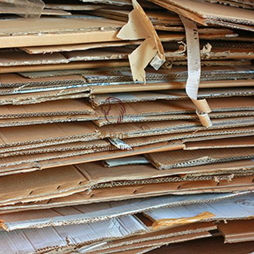 OLD CORRUGATED CARTON BOX SCRAPS