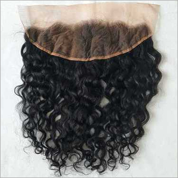 Natural Indian Curly Lace Frontal 13x4