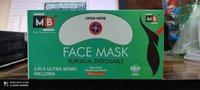 3 Ply ultrasonic facemask