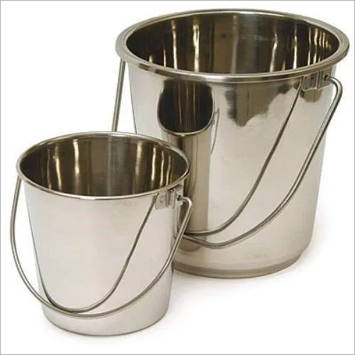 STAIINLESS STEEL BUCKET