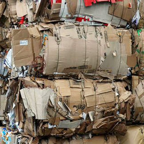 CORRUGATED CARTON WASTE FOR RECYCLE