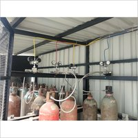 Industrial Gas Manifold Connection System