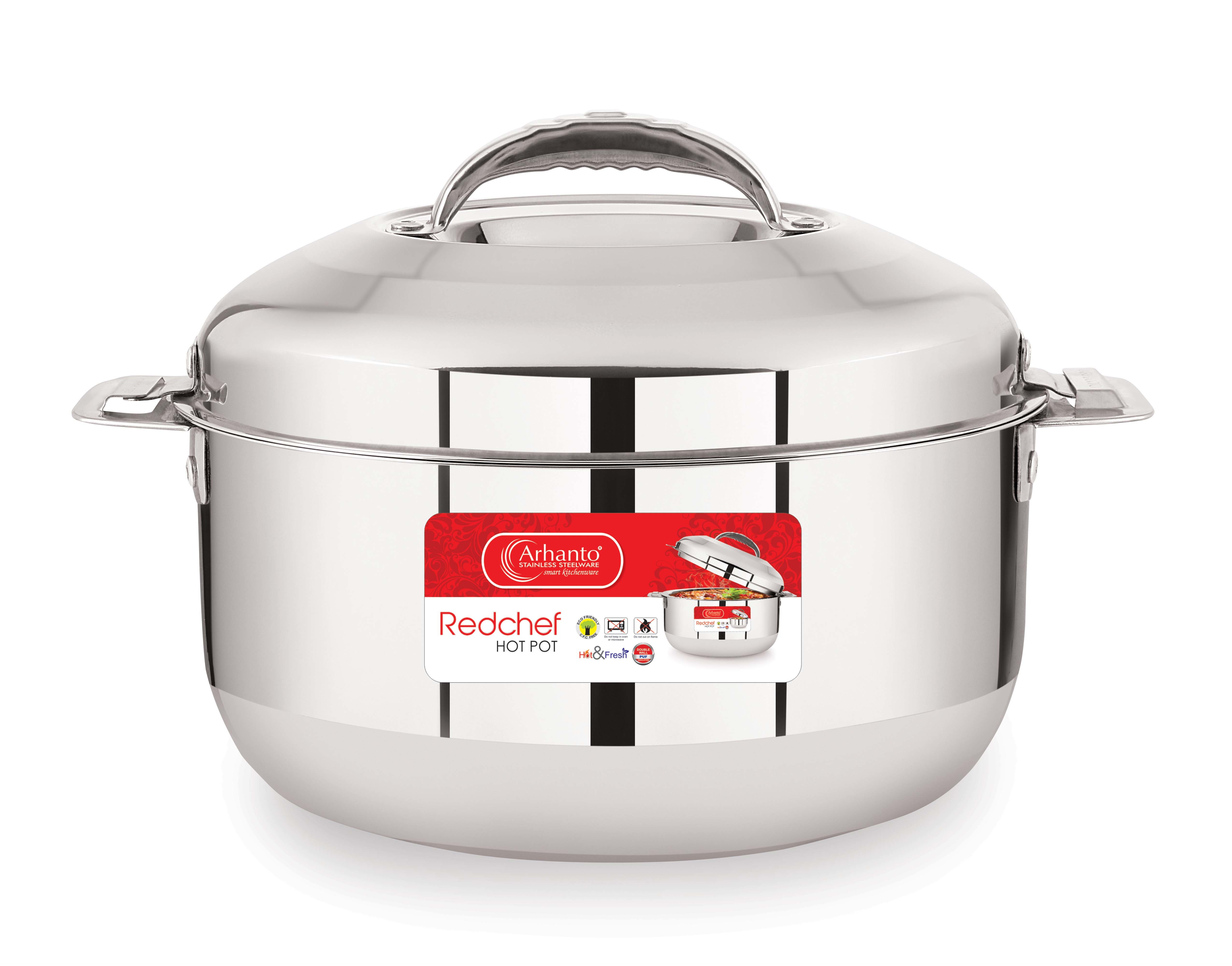stainess Steel Casserole  imperia Hot Pot 1500ML