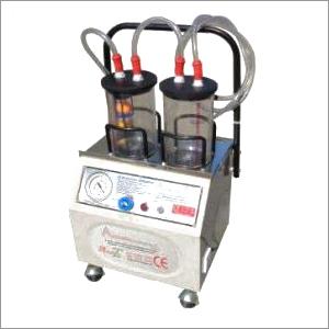 High Vacuum Suction Apparatus