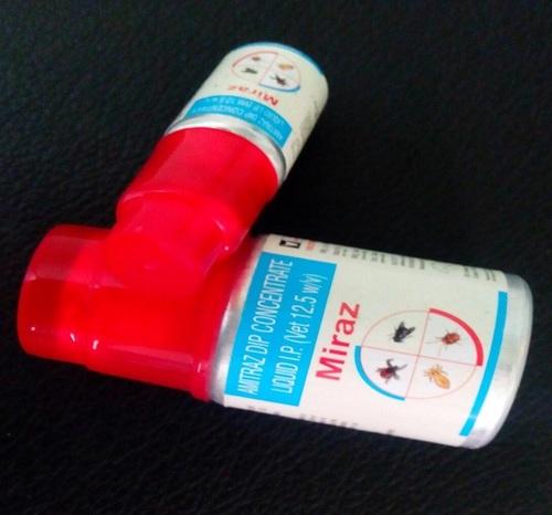 Amitraz Dip Concentrate Liquid Ip [Vet 12.5 % W/V]