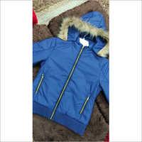 Girl's Short Jacket (Detachable Cap)