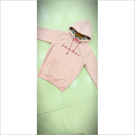 Girlish Cotton Hoodie