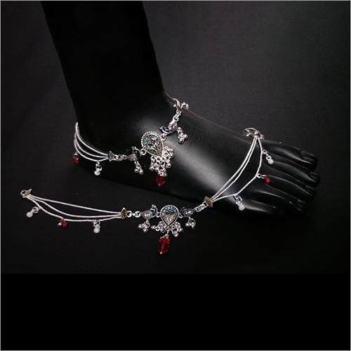 Silver Designer Imitation Anklets