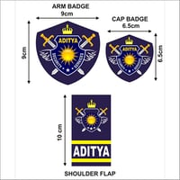 Customize Security Guard Uniform Badges