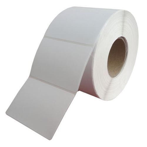 White Plain Barcode Labels