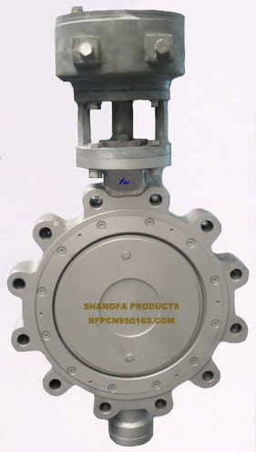 Manual wafer metal sealing Butterfly Valve