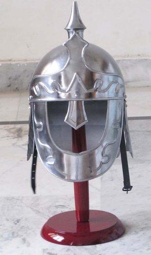 B014A1I1PK Medieval Roman Greek Ancient King Warrior Armour Helmet - Role Play Fancy Dress