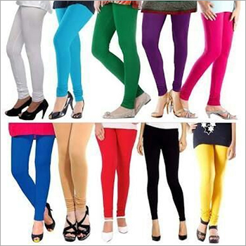 Plain Cotton Lycra Leggings