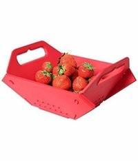 Kitchen Tools - 3 in 1 Fruit & Vegetable Chopping Board Wash Folding Basket