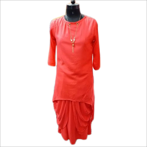 Ladies Dhoti Suits