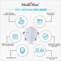 Medi-Max N95 Face Mask Pro With Head Band Strap (STERILE EO)