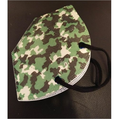 Medi-Max Army Military Face Mask With 5 Layers