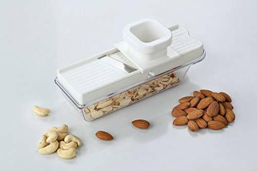 Stainless Steel Vegatable and Dry Fruit Slicer, Cutter, Multicolour