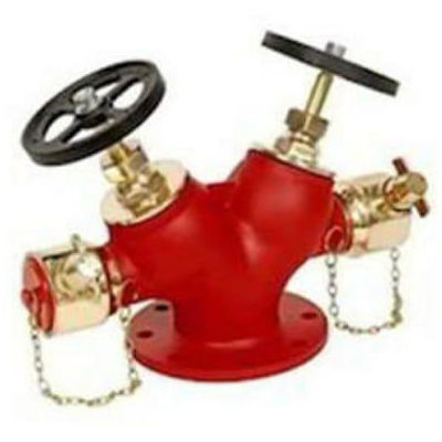 Fire Hydrant Valve Double Outlet