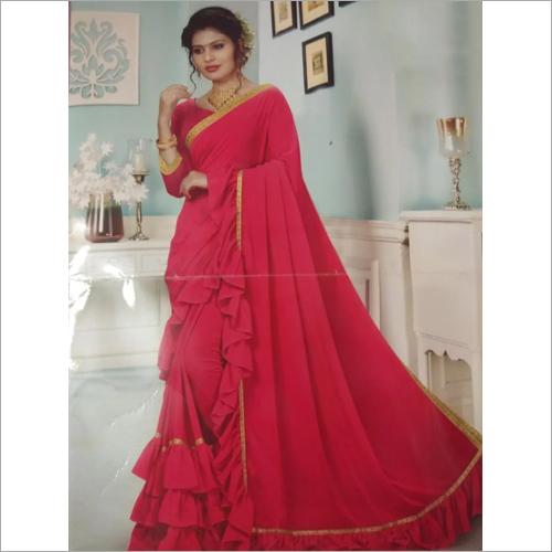 Ladies Pink Kuchi Sarees